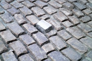 Cobblestone Road your brick is out of place