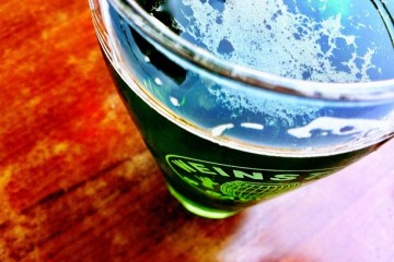 Green Beer on St Pats day via @espagnodutchie