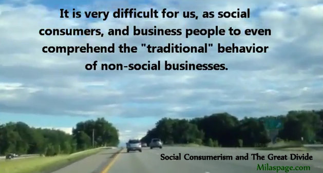 Social Consumerism and The Great Divide