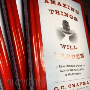 Amazing Things Will Happen by @CC_Chapman photo by @Milaspage
