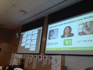 Impact 99 Social HR Conference : Social Workplace Case Study