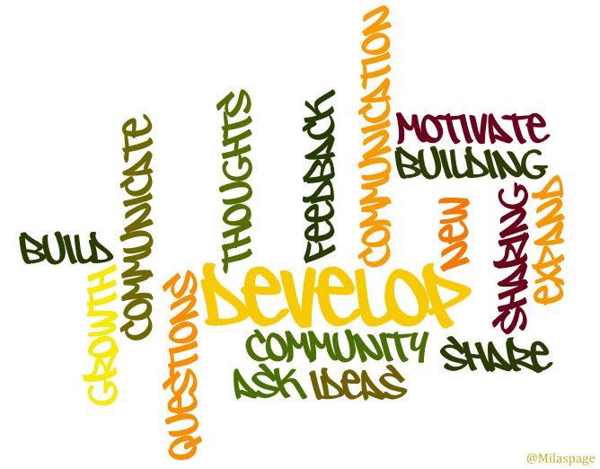Wordle Communication Word Cloud Community Communication Blogging by @Milaspage
